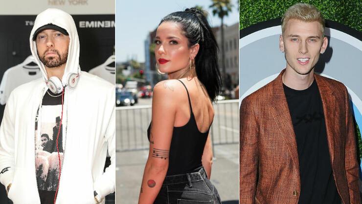Did Halsey Respond To Her Name-Drop In Eminem & Machine Gun