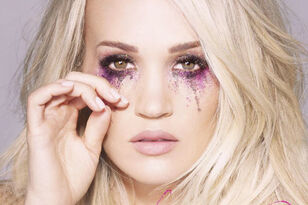 Carrie Underwood Unveils New 'Cry Pretty' Glitter Tears Snapchat Filter
