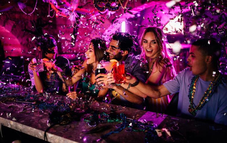 Mardi Gras Fun Getty Images