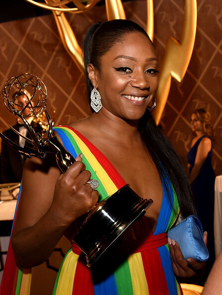 Tiffany Haddish wins big at the Emmys!