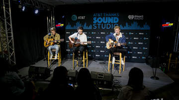 Photos - New Hope Club in the AT&T Thanks Sound Studio