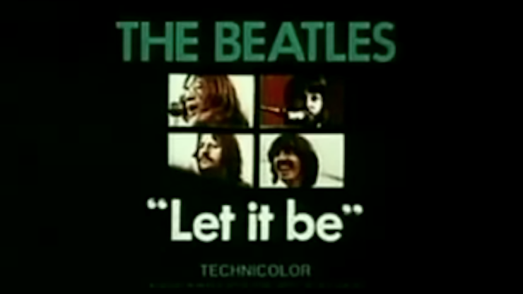On This Day In 1970 The Beatles 'Let It Be'