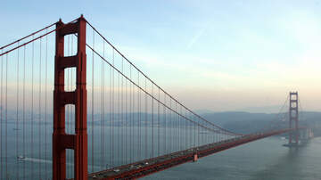 Trending in The Bay - Golden Gate Bridge Suicide Net Installation Causing Lane Closures