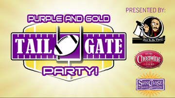 None - Purple and Gold Tailgate Party