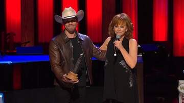 BigKat Kris Stevens - Reba Inducts Dustin Lynch into Grand Ole Opry