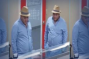 Mount Pleasant bank robbery suspect spotted again PHOTO