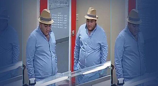 Mount Pleasant bank robbery suspect