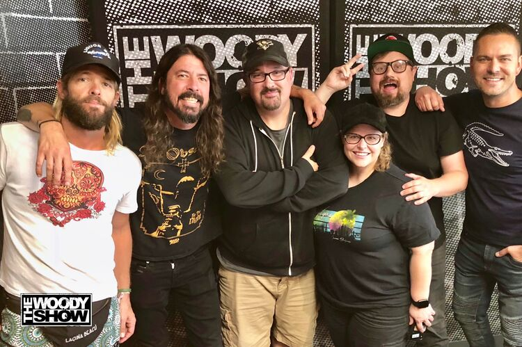Foo Fighters Woody Show