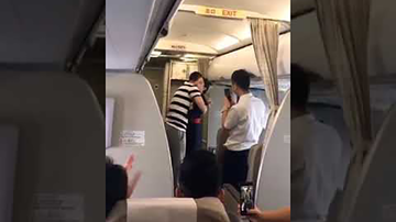 Trending - Man's Mid-Flight Proposal To Flight Attendant Gets Her Fired