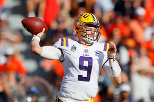 LSU Buoyed By Burrow's Intangibles, If Not His Stats