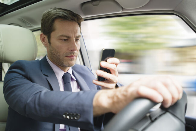 Getty Images/Stock Cell Phone Driver