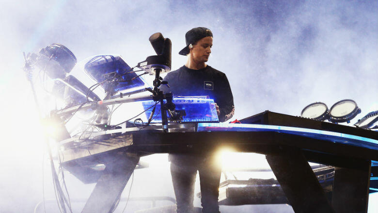 8 Show-Stopping Shots From Kygo's iHeartRadio Music Festival Performance