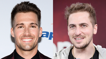 None - Big Time Rush Reunion: James Maslow and Kendall Schmidt Hug It Out