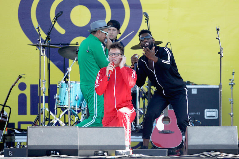 Bobby Bones and The Raging Idiots Wore Epic Matching Tracksuits