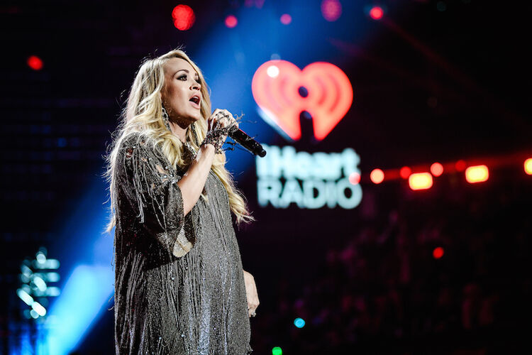 Carrie Underwood performs at the 2018 iHeartRadio Music Festival