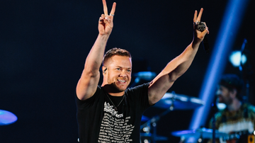 iHeartRadio Music Festival - Imagine Dragons Toasts To Las Vegas During 2018 iHeartRadio Music Festival