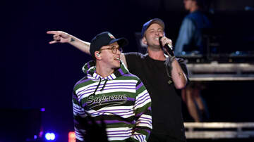 iHeartRadio Music Festival - Logic & Ryan Tedder Took Their Bromance To 2018 iHeartRadio Music Festival