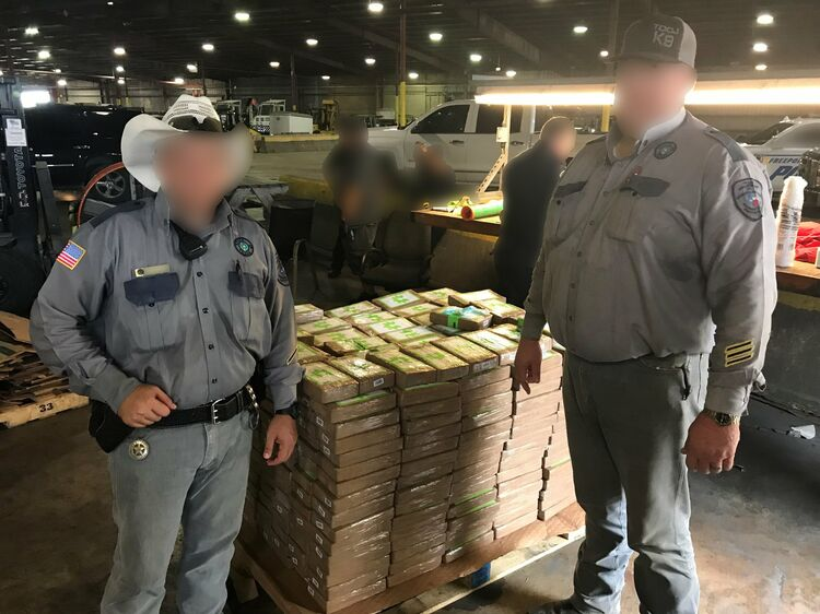 $18 million worth of cocaine seized in bananas shipment.