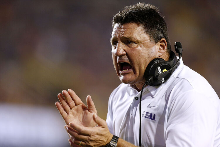 LSU Ed Orgeron Getty Images