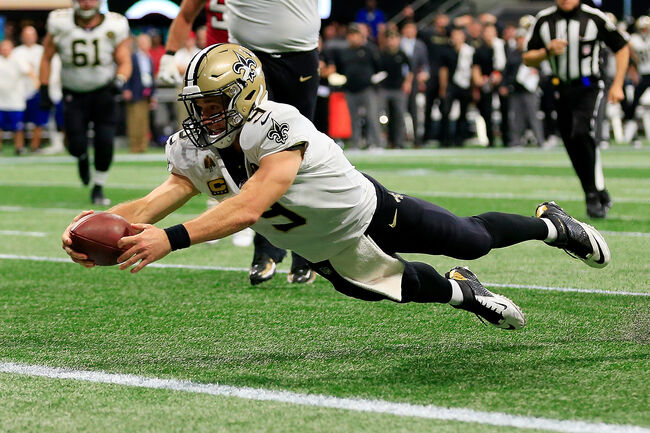 Saints Drew Brees Getty Images