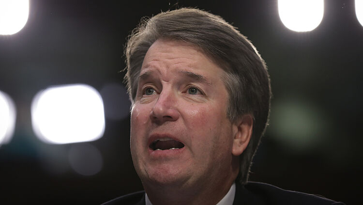 Supreme Court nominee Judge Brett Kavanaugh testifies before the Senate Judiciary Committee on the third day of his Supreme Court confirmation hearing on Capitol Hill