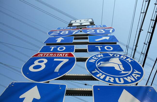 What Is The Speed Limit on the New York State Thruway? | BJ The Web