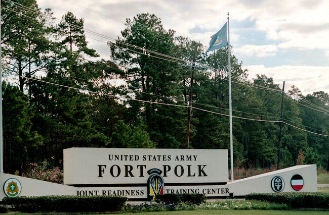 Fort Polk Getty Images