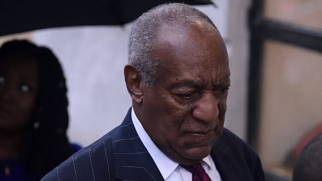 Bill Cosby arrives for a scenting hearing in Norristown, PA