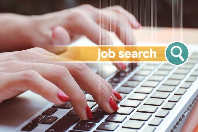 Job Search Getty RF