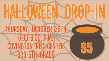 Safe Halloween Page - Halloween Drop-In