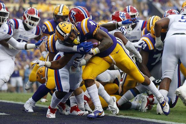LSU Nick Brossette Getty Images