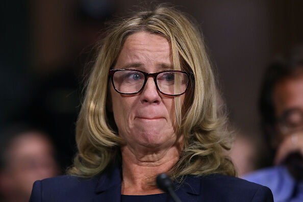 """She says she remembers Brett Kavanaugh and a friend """"having fun at my expense"""" as she was being attacked."""