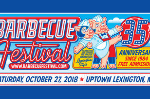 The 35th Annual Lexington BBQ Festival
