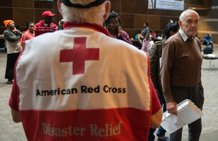 American Red Cross Getty Images