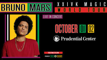Weekends - Last Chance To Win Tickets To Bruno Mars At Prudential Center