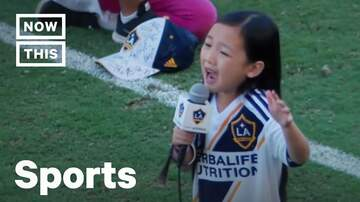 Mikey - WATCH: Little Girl's Amazing National Anthem!
