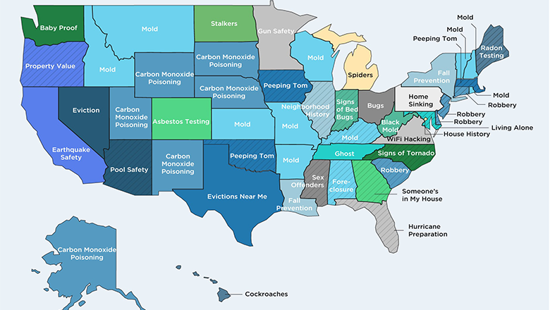 These Are The Most-Googled Household Fears in Each State