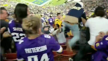 Sports Top Stories - Wild Brawl Breaks Out In Stands During Rams-Vikings Game