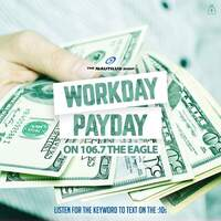 Listen To Win $1000 Every Hour in the Workday Payday