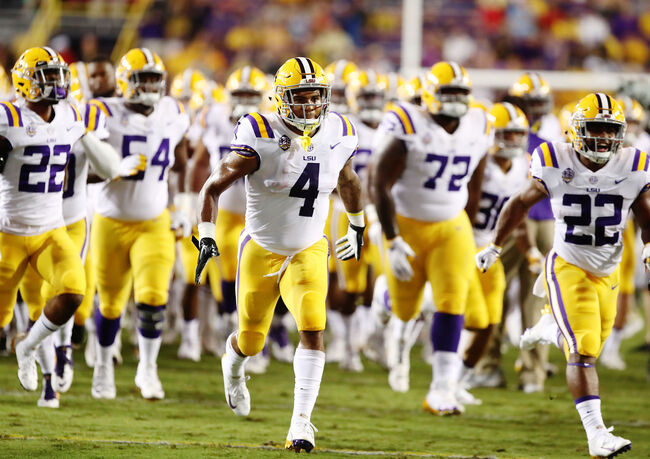 LSU Football Getty Images