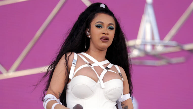 Cardi B Just Got A Giant New Offset Tattoo On Her Leg: Cardi B Arrested & Charged With Two Misdemeanors Over