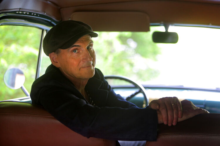 KMJX James Taylor Press Photo 2018