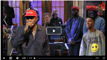 Cheeba - K West on SNL.....