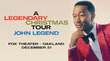 None - John Legend: A Legendary Christmas at Fox Theater, Oakland