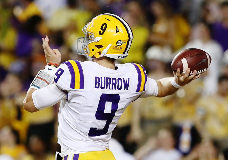 LSU Joe Burrow Getty Images