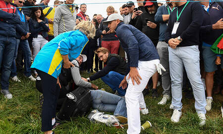 Sports Top Stories - Woman Lost Eye After Being Struck By Golf Ball During Ryder Cup