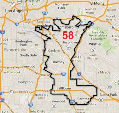 Assembly District 58 elections