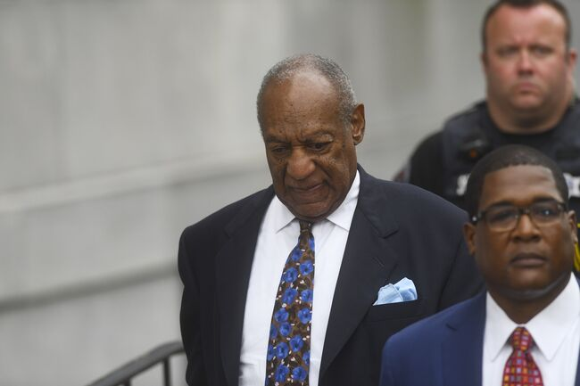 entencing Begins In Bill Cosby Trial NORRISTOWN, PA - SEPTEMBER 24: Bill Cosby departs the Montgomery County Courthouse on the first day of sentencing in his sexual assault trial on September 24, 2018 in Norristown, Pennsylvania. In April, Cosby was found guilty on three counts of aggravated indecent assault for drugging and sexually assaulting Andrea Constand at his suburban Philadelphia home in 2004. 60 women have accused the 80 year old entertainer of sexual assault. (Photo by Mark Makela/Getty Images) Editorial subscription SML 3500 x 2333 px | 11.67 x 7.78 in @ 300 dpi | 8.2 MP  Size Guide Add notes  SUBSCRIPTION DOWNLOAD Details Restrictions:Contact your local office for all commercial or promotional uses. Full editorial rights UK, US, Ireland, Canada (not Quebec). Restricted editorial rights for daily newspapers elsewhere, please call. Credit:Mark Makela / Stringer Editorial #:1039451134 Collection:Getty Images Entertainment Date created:September 24, 2018 License type:Rights-managed Release info:Not released.More information Source:Getty Images North America Object name:cosby-9.24.2018-markm Max file size:3500 x 2333 px (11.67 x 7.78 in) - 300 dpi - 2.03 MB More from this eventView all