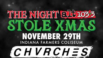 The Woody Show - The Night Alt1033 Stole XMAS - Chvrches, AJR & the Struts - Indianapolis