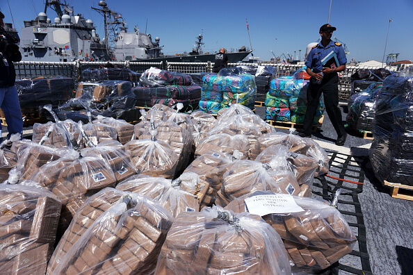 11 Tons Of Cocaine Offloaded in San Diego